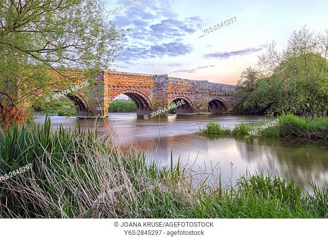 White Mill Bridge, Sturminster Marshall, Dorset, England, UK