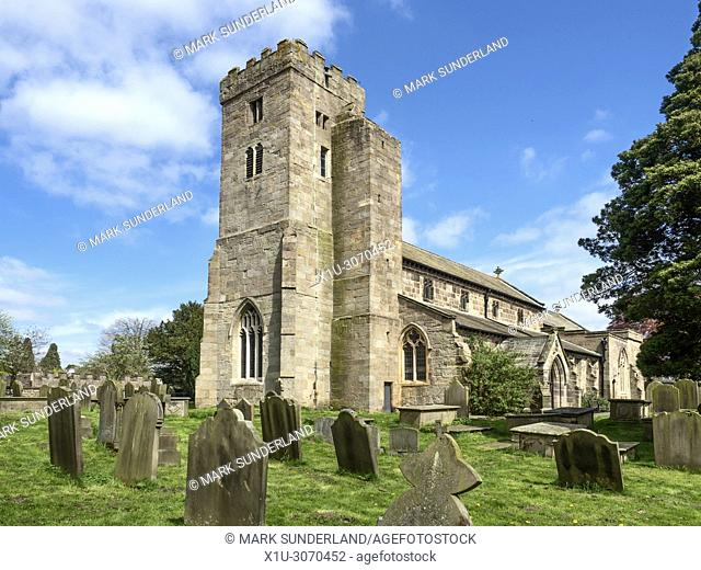 All Saints Parish Church at Ripley North Yorkshire England