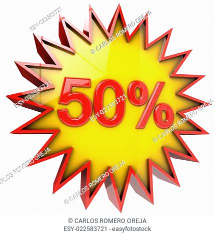 star discount of fifty percent