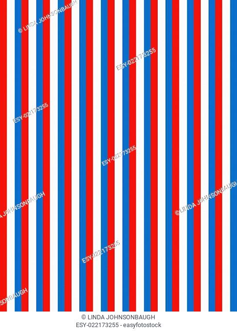 Red White and Blue Striped Background