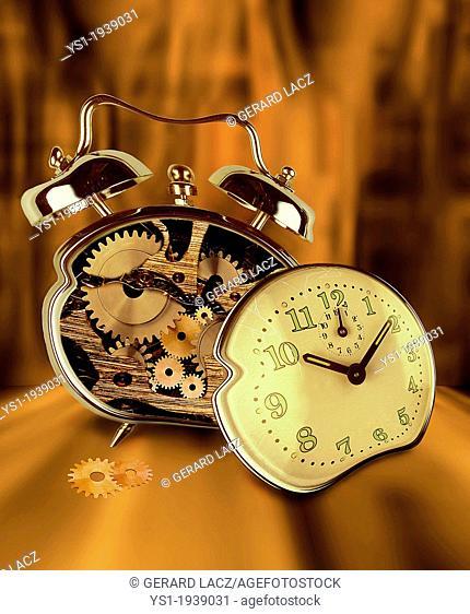 Symbolic image with Alarm Clock