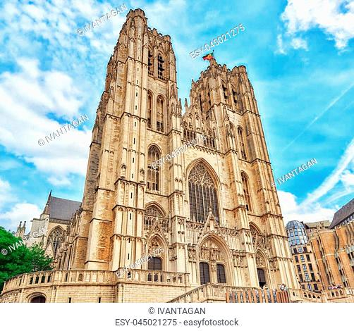 Cathedral of St. Michael and St. Gudula is a Roman Catholic church in Brussels, Belgium