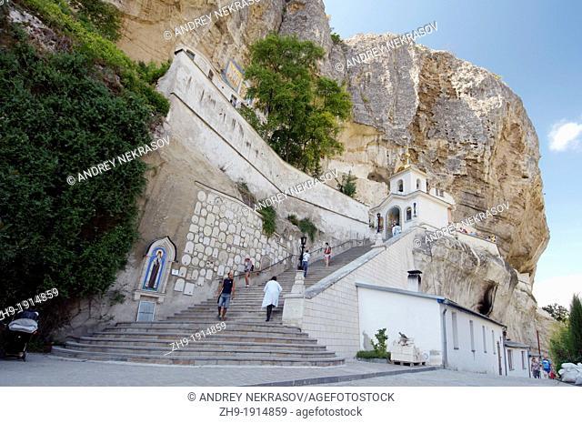 Bakhchisaray Bakhchysarai Cave Monastery, Crimea, Ukraine, Eastern Europe