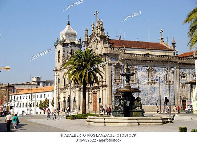 Igreja das Carmelitas church, Porto, Portugal