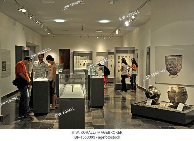 Exhibition space, Georgian National Museum, Sighnaghi, Kakheti, Georgia, Western Asia