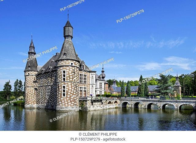 16th century Château de Jehay / Jehay Castle / Jehay-Bodegnée Castle at Amay, Liège, Wallonia, Belgium
