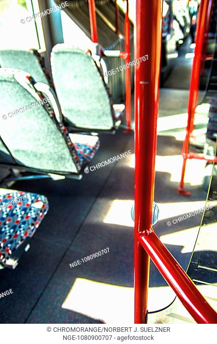 Handrail, bus, seats, public 1