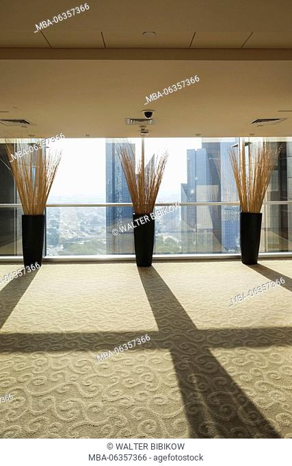 UAE, Dubai, Downtown Dubai, Sheik Zayed Road hotel, interior view