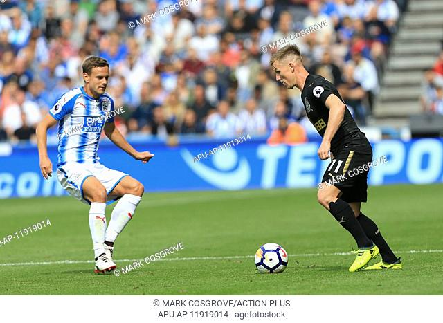 2017 EPL Premier League Huddersfield v Newcastle Aug 20th. 20th August 2017, The John Smiths Stadium, Huddersfield, England; EPL Premier League football