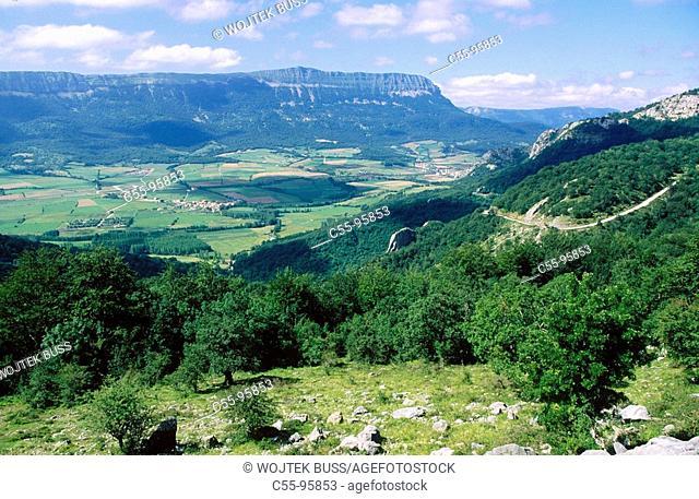 Spain. Guipuzcoa, Sierra de Aralar