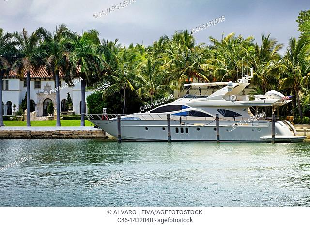 Mansion, South Beach, Miami, Florida, USA