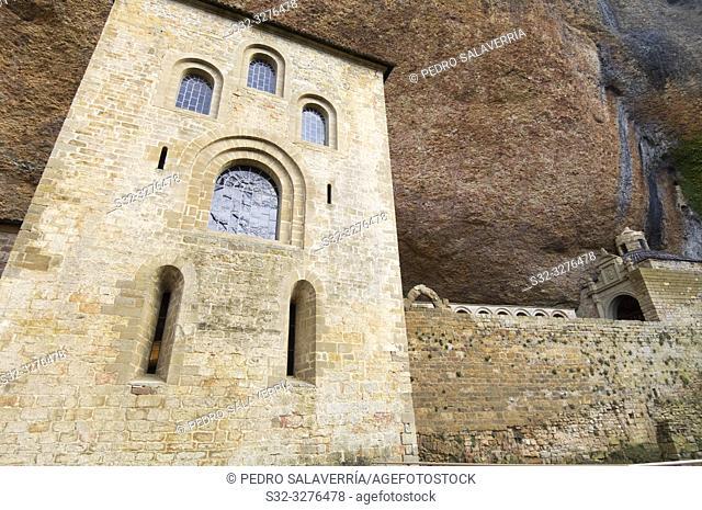 San Juan de la Peña Monastery, Huesca Province, Aragon, Spain