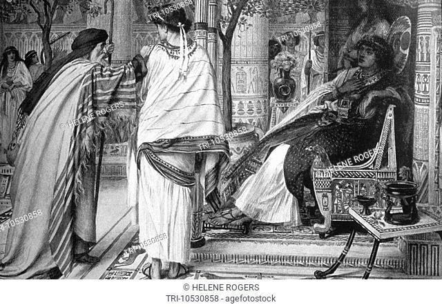 Joseph Introducing Jacob to Pharaoh