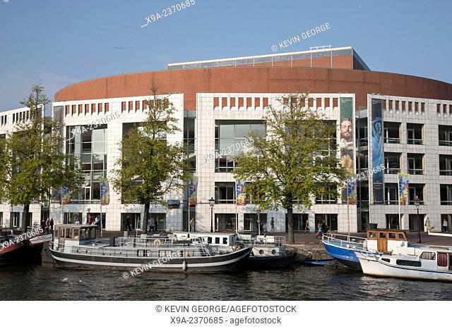 Dutch National Opera and Ballet Building, Amsterdam, Holland