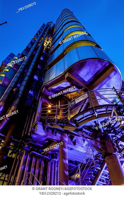 Lloyds Building, City Of London, London, England