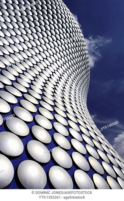 Selfridge's Building, designed by Future Systems, Bullring, Birmingham, West Midlands, England