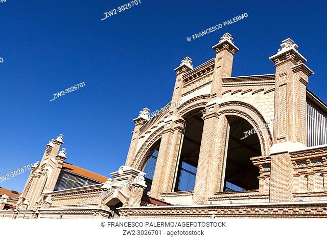 Matadero buildings is an old former slaughterhouse in the Arganzuela district has been converted to an arts centre. Madrid. Spain