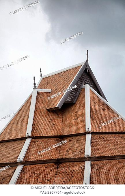 Thai Rooftop Architecture - Thailand