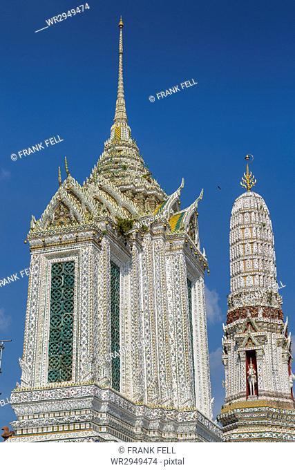 Wat Arun (Temple of Dawn), Bangkok, Thailand, Southeast Asia, Asia