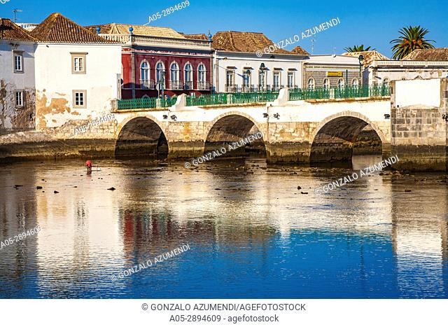 Gilao river. Tavira. Faro district. Algarve. Portugal