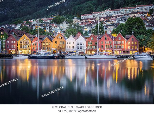 Bergen artistic quarter, Southern Norway