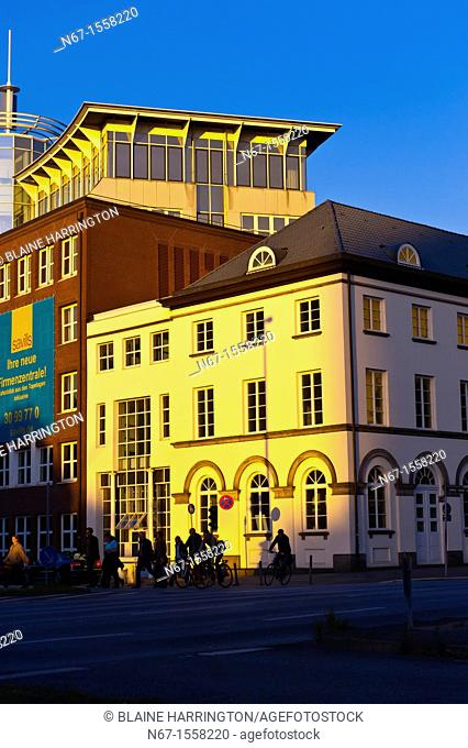 Street scene, Hamburg, Germany