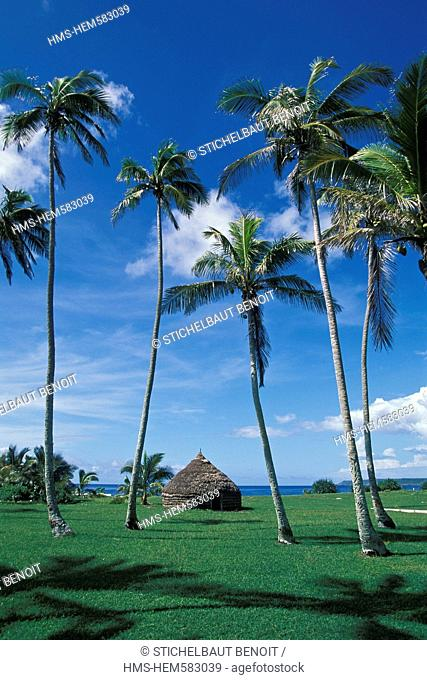 France, New Caledonia, Loyalty Islands, Lifou Island, Melanesian case
