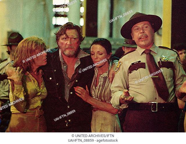 Empire Of The Ants, aka: In der Gewalt der Riesenameisen, USA 1977, Regie: Bert I. Gordon, Darsteller: Robert Lansing (2. v. l.), Joan Collins (2. v