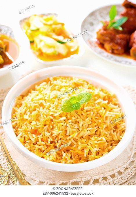 Biryani rice or briyani rice