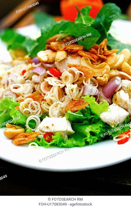 Thai Lemon Grass Chicken Salad