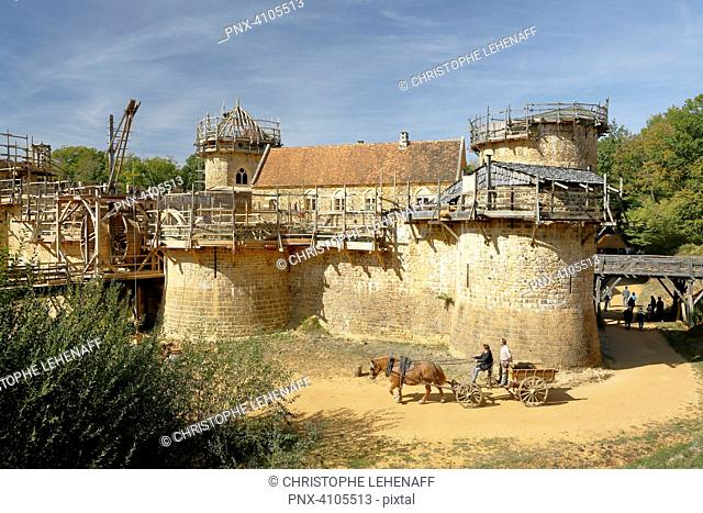 Guedelon, Stock Photo, Picture And Low Budget Royalty Free