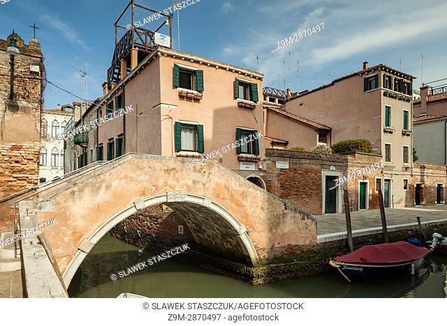 Cannaregio district in Venice, Italy