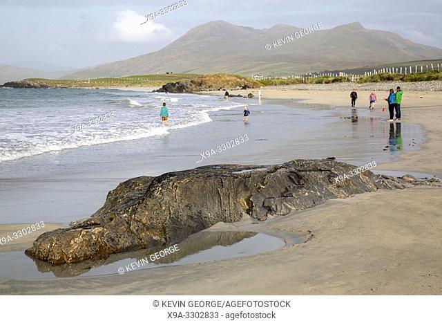 Silver Strand Beach; Rinvyle; Tully; Connemara National Park; Ireland