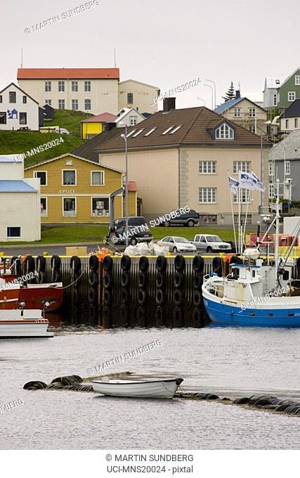 Waterfront village, Iceland