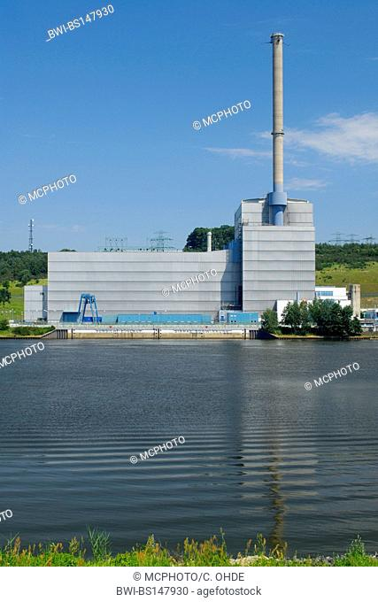 Kruemmel nuclear power station, Germany, Schleswig-Holstein