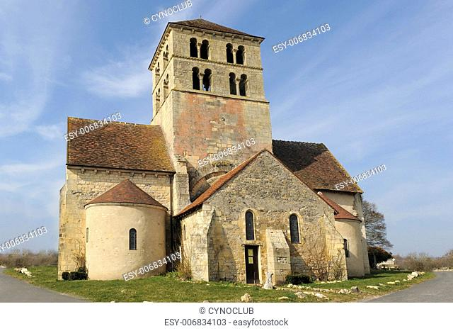 church Saint Laurent de Beard in the Nievre, France