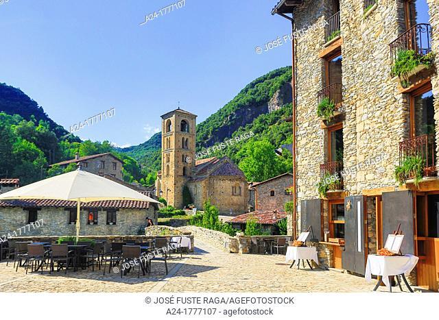 Spain , Catalonia ,Girona Province, Beget City , San Cristofol Church