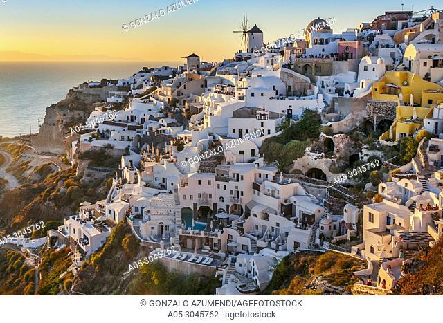 Oia. Ia. Santorini Island. Ciclades Islands. Greece