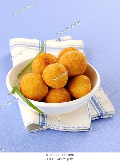 Round croquettes