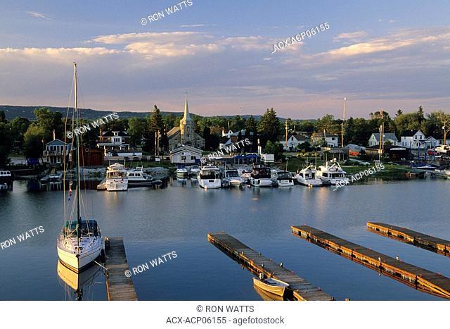 Townsite and Harbour, Killarney, Georgian Bay, Ontario, Canada