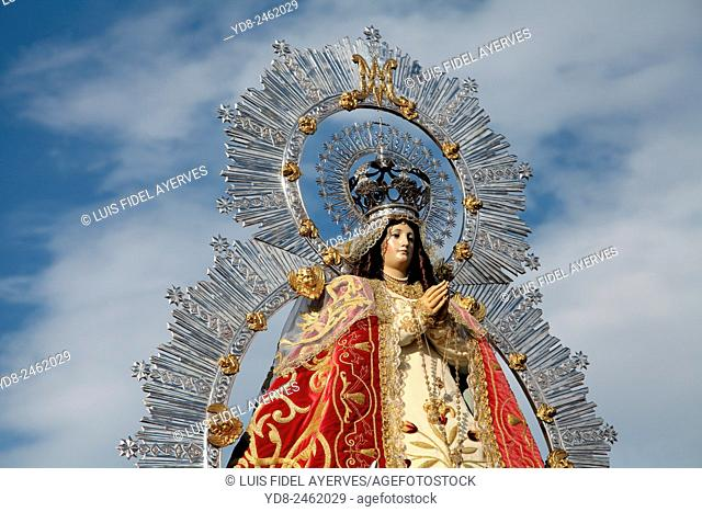 Image of Our Lady of the Angels in Getafe, Madrid, Spain