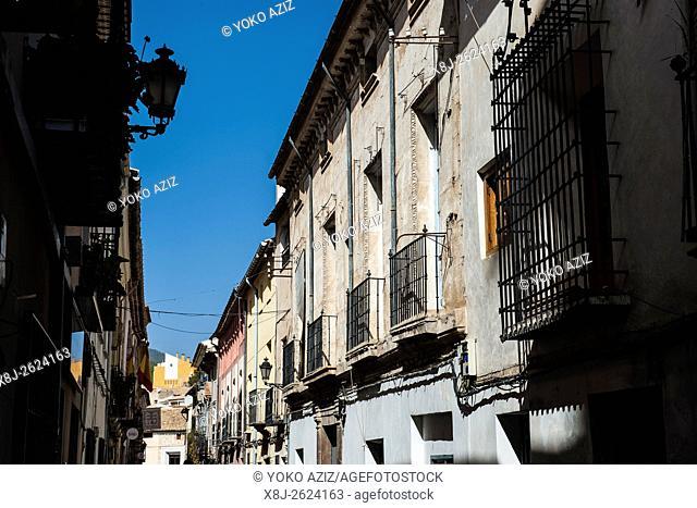 Spain, Murcia region, Caravaca de la Cruz, traditional house
