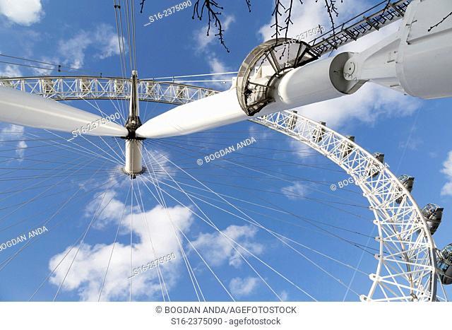 London - London Eye Millennium Ferris Wheel