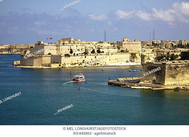 View of harbour, Valletta, Malta
