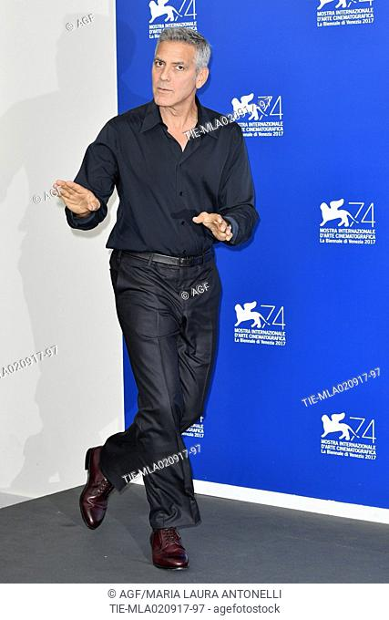 George Clooney during Suburbicon photocall, 74th Venice Film Festival, Venice 02/09/2017