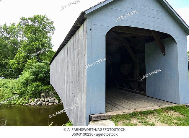 Sheffield, Massachusetts, USA The Sheffield Covered Bridge