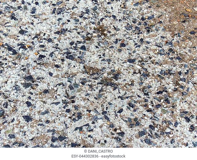 Gravel and cement texture