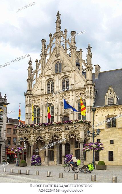 Belgium, Mechelen City, Market Square, City Hall Bldg
