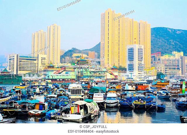 District Aberdeen in Hong Kong