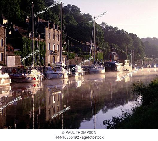 Dinan and River Rance, Cotes-d'armor, Brittany, France